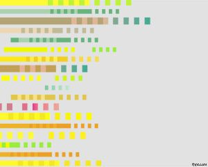Plantilla PowerPoint con Pixeles PPT Template