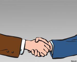 Plantilla PowerPoint de Negociación PPT Template