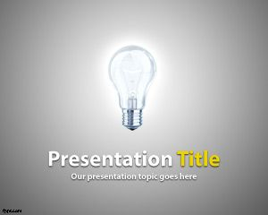 Link toLight powerpoint template