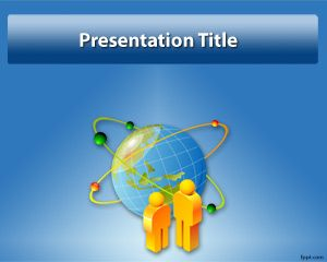 Globe PowerPoint Template PPT Template