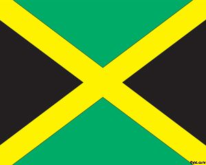 Flag of Jamaica PowerPoint PPT Template