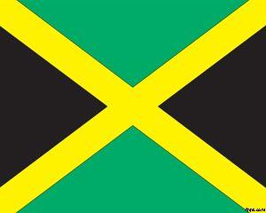 Plantilla PowerPoint con Bandera de Jamaica PPT Template