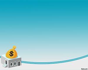 Plantilla Powerpoint de Ahorro de Dinero PPT Template