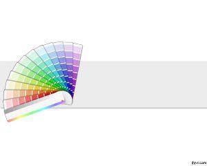 Plantilla PowerPoint de Pantone PPT Template