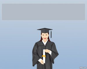 PowerPoint Template for Graduation