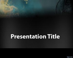 Mistery PowerPoint Template PPT Template