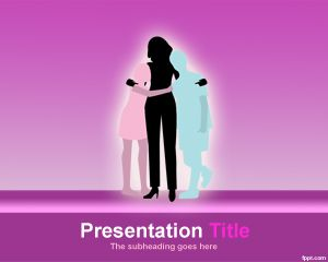Plantilla PowerPoint de Maternidad