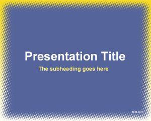 Plantilla PowerPoint para Entrevista PPT Template