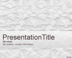 Scrapbook PowerPoint Template