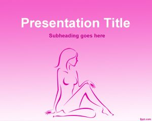 Plantilla PowerPoint de Spa PPT Template