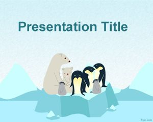 Plantilla PowerPoint de Calentamiento Global PPT Template