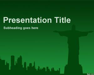 Plantilla PowerPoint de Rio de Janeiro PPT Template