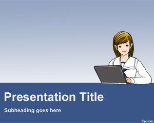 Plantilla PowerPoint de Soporte Técnico PPT Template