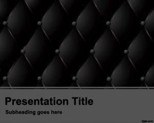Dark Cushion Powerpoint Template PPT Template