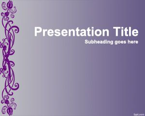 Plantilla PowerPoint Chic PPT Template