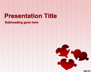 Love PowerPoint Background PPT Template