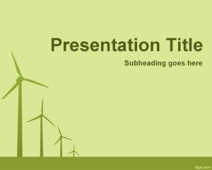 Air Energy Powerpoint Template Ppt Template