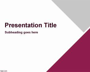 plantilla para PowerPoint de presentaciones gerenciales