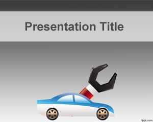 Plantilla PowerPoint de Mecánica PPT Template