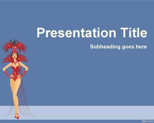 Plantilla PowerPoint de Carnaval PPT Template