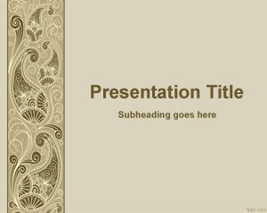 Plantilla PowerPoint Decorativa PPT Template