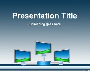 Digital Signage PowerPoint Template PPT Template