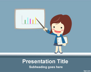 Free Finance Education PowerPoint Template