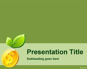 Plantilla PowerPoint de Inversión Ecológica PPT Template