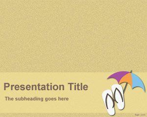 Plantilla PowerPoint de Vacaciones PPT Template
