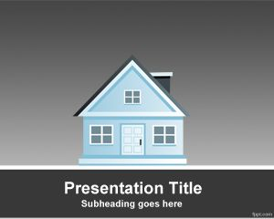 House PowerPoint Template PPT Template