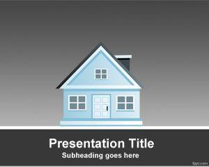 Plantilla PowerPoint de Casa PPT Template