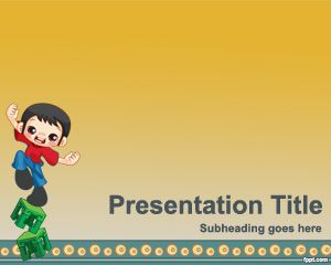 Plantilla PowerPoint de Humor PPT Template