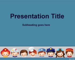 Plantilla PowerPoint para Entrevista de Trabajo PPT Template