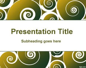 Plantilla PowerPoint de Piruletas PPT Template