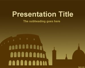 italy free powerpoint templates