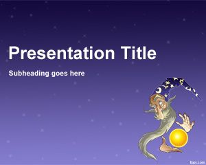 Plantilla PowerPoint de Mago PPT Template