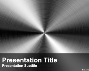 Steel PowerPoint Template PPT Template
