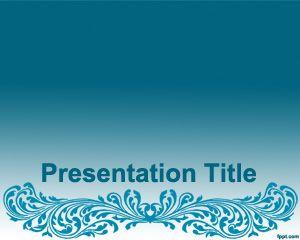 Plantilla PowerPoint con Estilo Artístico Gratis