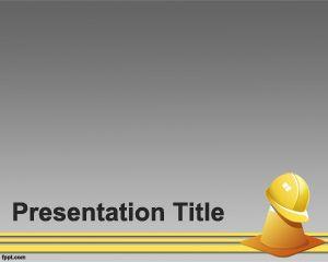 Public Maintenance PowerPoint Template PPT Template