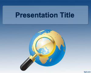 International World PowerPoint Template PPT Template