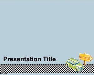 Auto Rental Powerpoint Template Ppt Template
