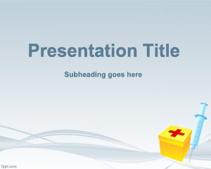 First Aid Template for PowerPoint PPT Template