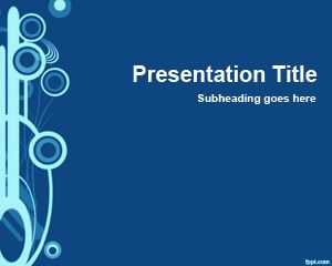 Blue Slide for PowerPoint PPT Template