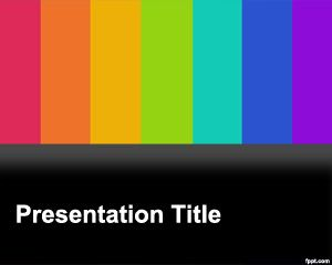 TV PowerPoint Template