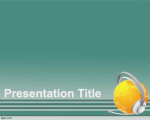 Link toOnline powerpoint template