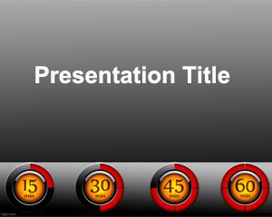 Dashboard PowerPoint Template PPT Template