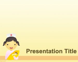 Pediatrician powerpoint template