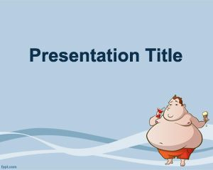 Obesity PowerPoint Template PPT Template