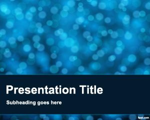 Blur Powerpoint Template Design