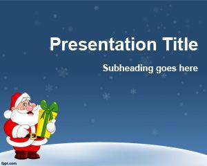Plantilla Navideña para PowerPoint PPT Template